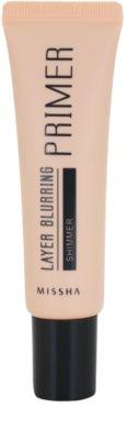Missha Layer Blurring Make-up Basis zum Aufklaren der Haut