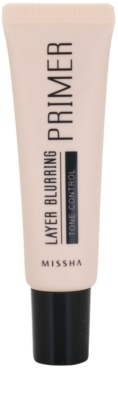 Missha Layer Blurring prebase de maquillaje para unificar el tono de la piel