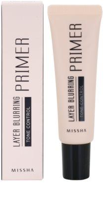 Missha Layer Blurring podlaga za poenotenje tona kože 1
