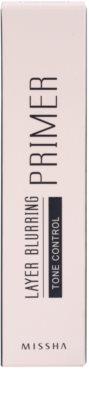 Missha Layer Blurring podkladová báze pro sjednocení barevného tónu pleti 2