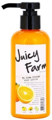 Missha Juicy Farm My Lime Orange losjon za telo