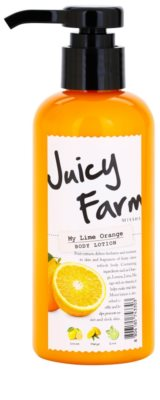 Missha Juicy Farm My Lime Orange telové mlieko
