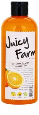 Missha Juicy Farm My Lime Orange gel za prhanje