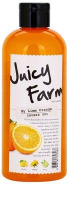 Missha Juicy Farm My Lime Orange душ гел