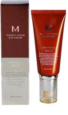 Missha M Perfect Cover crema BB  de protección UV alta 1