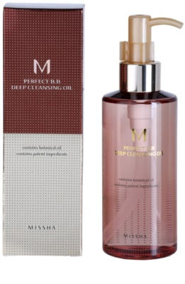 Missha M Perfect Cover tiefenreinigendes Öl 1