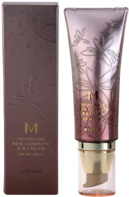 Missha M Signature Real Complete ВВ крем за безупречен изравнен тен на кожата 1