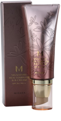 Missha M Signature Real Complete Crema BB ce ofera aspect perfect pielii 2