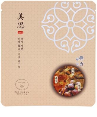 Missha Misa Yei Hyun orientalna, ujędrniająca maseczka bawełniana