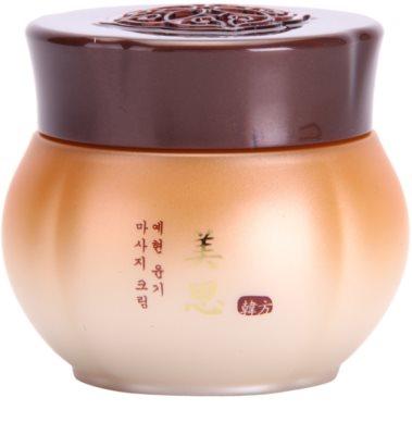 Missha Misa Yei Hyun creme esfoliante de massagem à base de plantas orientais