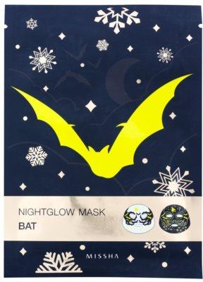 Missha Nightglow Mask mascarilla con efecto de luz  fluorescente