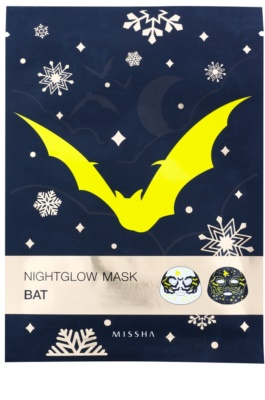 Missha Nightglow Mask маска з флюорисцентним ефектом