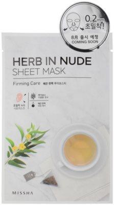 Missha Herb in Nude plátenná maska so spevňujúcim účinkom