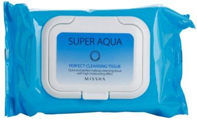 Missha Super Aqua Perfect Reinigungstücher mit feuchtigkeitsspendender Wirkung