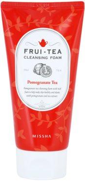 Missha Frui-Tea Pomegranate Espuma de limpeza e reafirmante