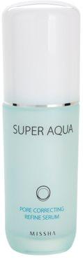 Missha Super Aqua Pore Correcting Serum zur Verminderung von erweiterten Poren
