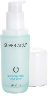 Missha Super Aqua Pore Correcting Serum zur Verminderung von erweiterten Poren 1