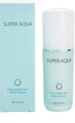 Missha Super Aqua Pore Correcting Serum zur Verminderung von erweiterten Poren 2