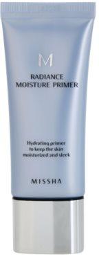 Missha M Radiance Moisture baza de machiaj cu efect de hidratare