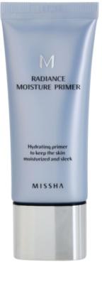 Missha M Radiance Moisture sminkalap a make-up alá hidratáló hatással
