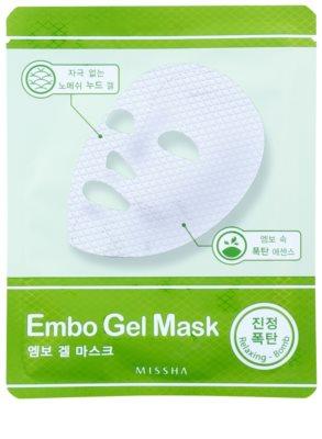 Missha Relaxing Bomb bőrnyugtató géles maszk