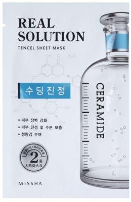 Missha Real Solution masca de celule cu efect calmant