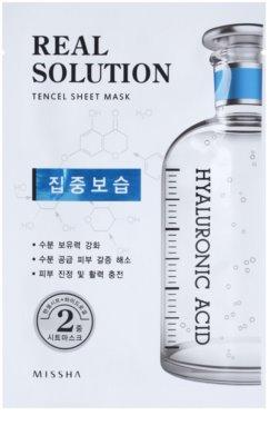 Missha Real Solution тканинна маска зі зволожуючим ефектом