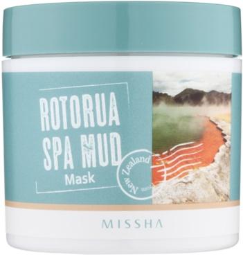Missha Rotorua Spa Mud masca pentru fata pentru pori dilatati