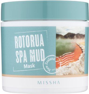 Missha Rotorua Spa Mud maseczka do twarzy na rozszerzone pory