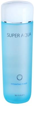 Missha Super Aqua tonik za obraz z vlažilnim učinkom