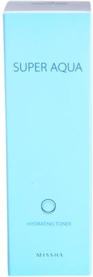 Missha Super Aqua tonik za obraz z vlažilnim učinkom 3