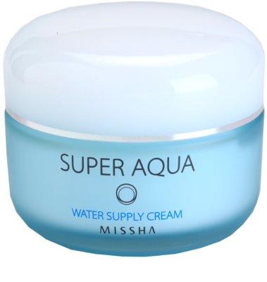 Missha Super Aqua gel crema cu efect de hidratare