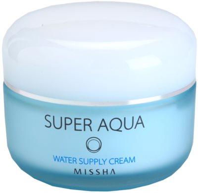 Missha Super Aqua Gel-Creme mit feuchtigkeitsspendender Wirkung
