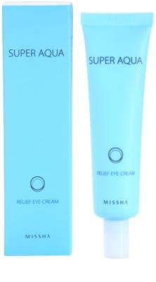 Missha Super Aqua Feuchtigkeitsspendende Augencreme mit ernährender Wirkung 1