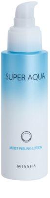 Missha Super Aqua hidratáló peeling tej