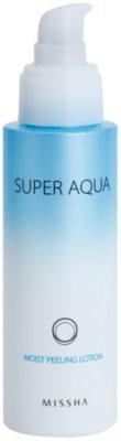 Missha Super Aqua loción exfoliante hidratante