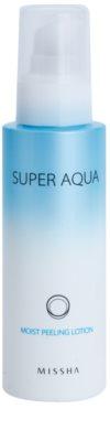 Missha Super Aqua loción exfoliante hidratante 1