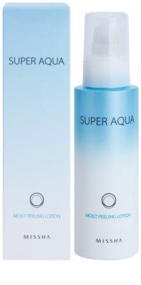 Missha Super Aqua loción exfoliante hidratante 2