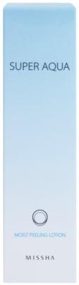 Missha Super Aqua loción exfoliante hidratante 3