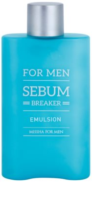 Missha For Men Sebum Breaker emulsión facial para pieles grasas