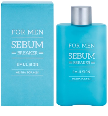 Missha For Men Sebum Breaker bőr emulzió zsíros bőrre 1