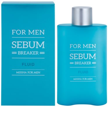Missha For Men Sebum Breaker fluid za mastno kožo 1