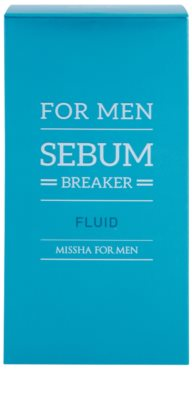 Missha For Men Sebum Breaker fluid za mastno kožo 2