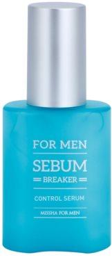 Missha For Men Sebum Breaker serum do twarzy do skóry  tłustej