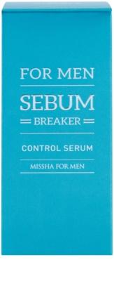 Missha For Men Sebum Breaker ser pentru ten  pentru ten gras 2