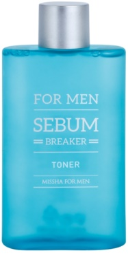 Missha For Men Sebum Breaker tónico para pieles grasas