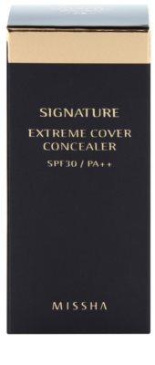 Missha Signature коректор для повоного покриття зі щіточкою 5
