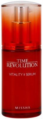 Missha Time Revolution serum facial revitalizante para las líneas de expresión