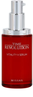 Missha Time Revolution vitalizacijski serum za obraz proti gubam, ki nastajajo zaradi mimike 1