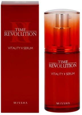 Missha Time Revolution vitalizacijski serum za obraz proti gubam, ki nastajajo zaradi mimike 2
